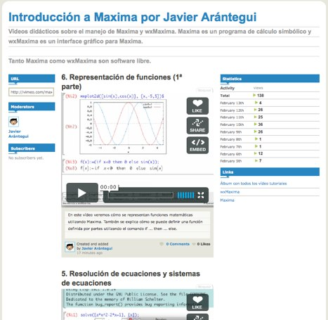 introduccion-a-maxima-por-javier-arantegui-on-vimeo